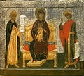 Virgin with David and Solomon (Annunciation Cathedral in Moscow).jpg