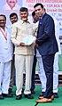 Visakhapatnam VVS Laxman with CBN.jpg