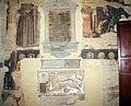 Vitale da bologna, resti di affreschi in san martino, con abramo, apostoli e dannati, 02.JPG
