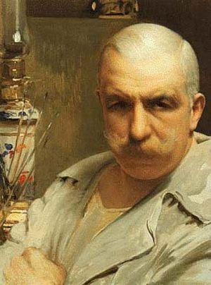 Vittorio Matteo Corcos - Autoritratto 1913, self-portrait, 1913