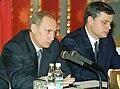Vladimir Putin and Alexander Abramov - 22.11.2000.jpg