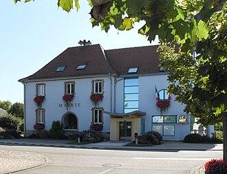 Vogelgrun - The town hall in Vogelgrun