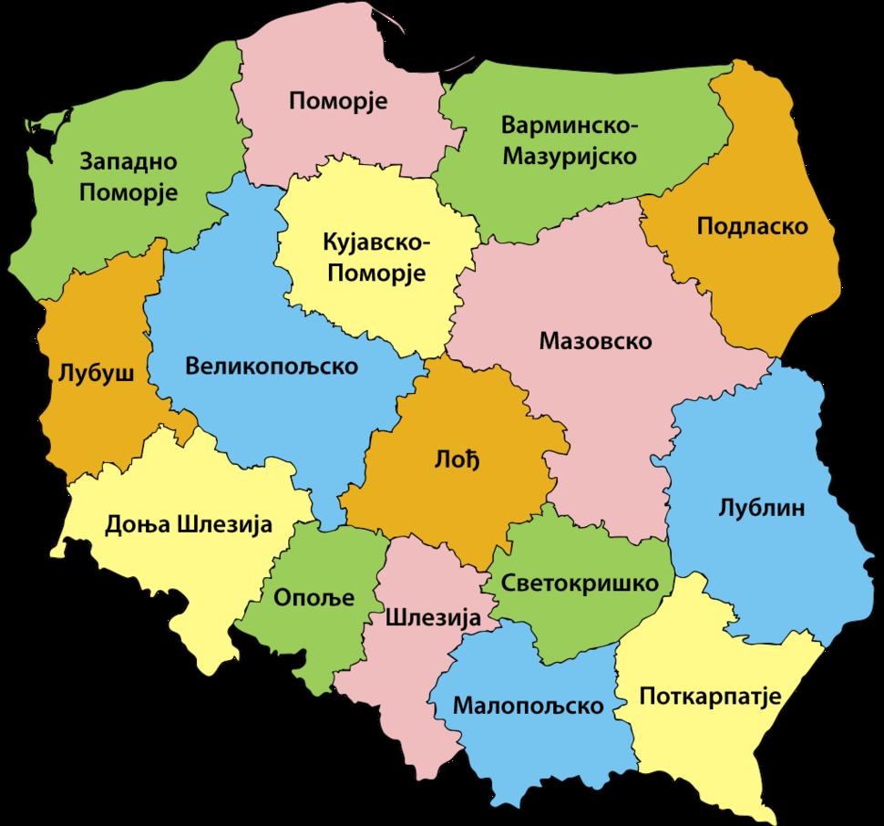 Vojvodstva Poljske