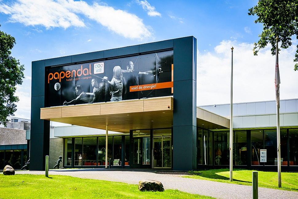 Vooraanzicht Hotel Papendal