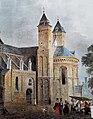 Vrijthof met St-Servaaskerk (J Lauters, 1840).jpg