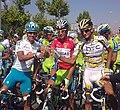 Vuelta a España 2010 - Brindis - Mosquera, Nibali y Velits.jpg
