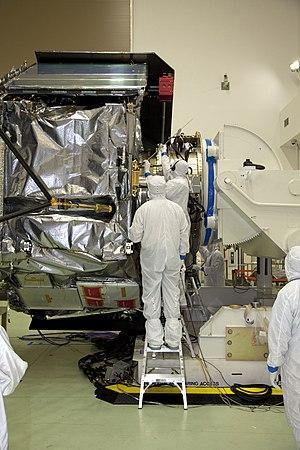 Waves (Juno) - Waves being installed on Juno spacecraft