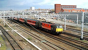 History of Rugby, Warwickshire - The railway at Rugby in 2004