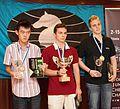 WChJ Athens 2012 - men podium.jpg