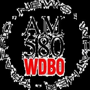 WDBO (AM) - Former logo used until 2012.