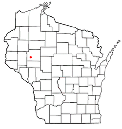 Location of Tilden, Wisconsin