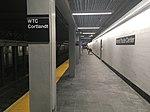 WTC-Cortlandt St IRT station - uptown platform.jpg