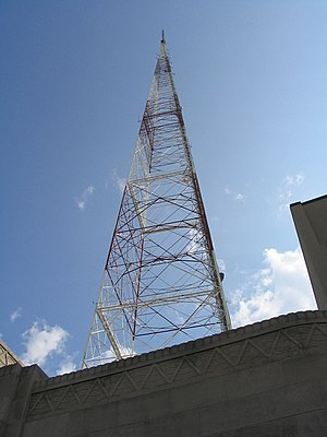 Scott's Addition Historic District - WTVR 6 Tower, July 2004