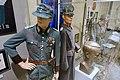 WW2 Norway. Hauptmann der Sicherheitspolizei (Ordnungspolizei); Norw. Statspolitiet police major 1942; Quisling bust; etc Justismuseet Trondheim 2019 7112 7064.jpg