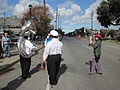 WWOZ 30th Parade Elysian Fields Lineup Band Photo.JPG