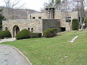 Westchester Hills Cemetery - The main office of Westchester Hills Cemetery