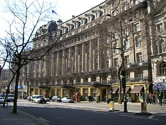 The Waldorf Hilton, London - Exterior view of the hotel in 2006