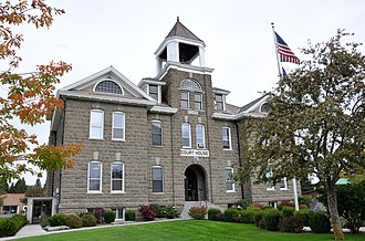 Wallowa County, Oregon - Image: Wallowa Oregon County Courthouse