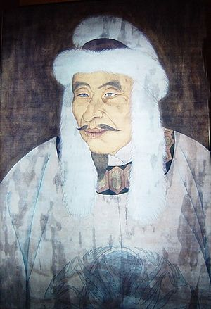 Jin–Song Wars - Jurchen chieftain Wanyan Aguda, who in 1115 became the first emperor of the Jin dynasty