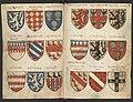 Wapenboek Beyeren (armorial) - KB79K21 - folios 026v (left) and 027r (right).jpg