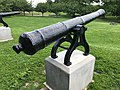 War of 1812 Memorial Cannons, Patterson Park, Baltimore, MD (35263928805).jpg