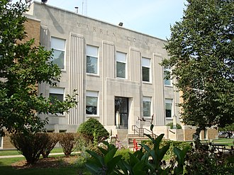 Indianola, Iowa - Warren County Courthouse in Indianola