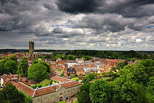 A view over Warwick
