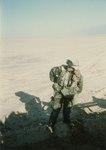 Weapons Platoon, B Company, 1st Battalion, 3rd Marines near Al-Burgan Oil Field, Kuwait in Gulf War, February 1991.tif