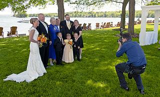 Wedding photography Photographer aimed at wedding ceremony