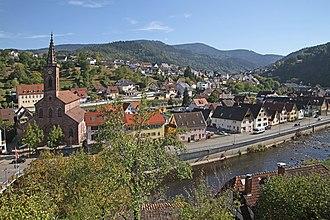 Weisenbach - Image: Weisenbach St Wendelinus 04 gje
