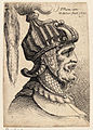 Wenceslas Hollar - Helmet with long plume and chin strap.jpg