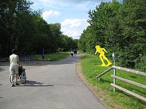 Sankt Wendel - Wendalinus cycle track, start near St. Wendel