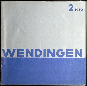 Wendingen - Wendingen 1930-2, Van Nelle Factory (cover L.v.d.Vlugt)