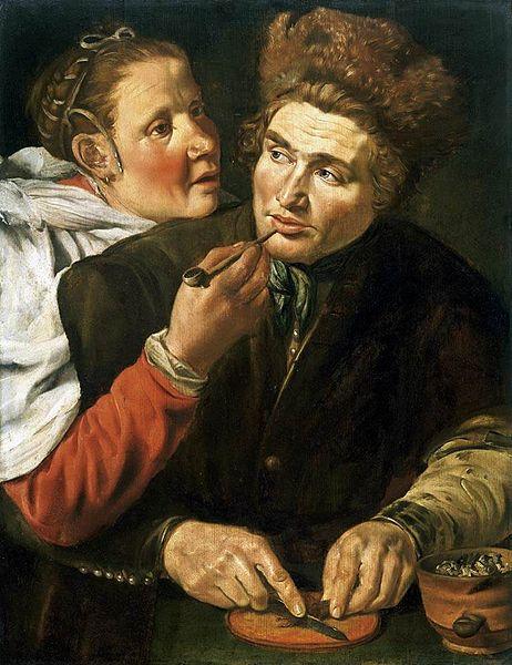 File:Werner van den Valckert - A Man Cutting Tobacco - WGA24211.jpg