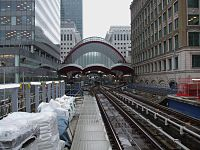 West India Quay DLR stn look south3.JPG
