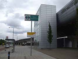 West Silvertown stn northern entrance.JPG