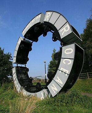 Maesycwmmer - Image: Wheel O Drams Maesycwmmer Andy Hazell