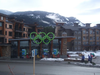 The Whistler Athlete's village, one of two athlete's villages built for the Games.