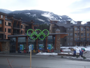Concerns and controversies at the 2010 Winter Olympics - Whistler Athletes' Village (more athletes stayed there than at the village in Vancouver)