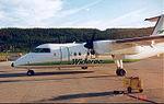 Widerøe DHC-8-103 at Mo i Rana.jpg