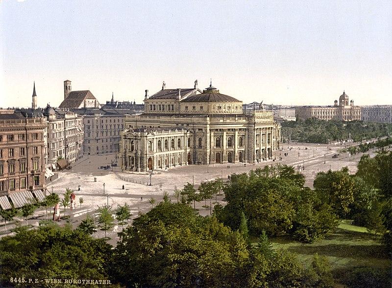 Wien Burgtheater um 1900.jpg