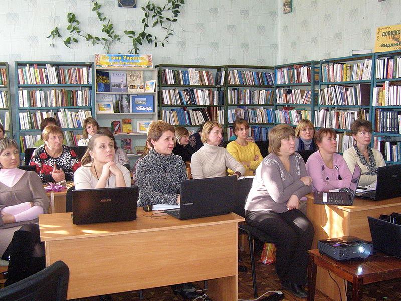 Віківишкіл у Новопскові (6 листопада). Автор фото — Pavlo1, ліцензія CC-BY-SA-4.0