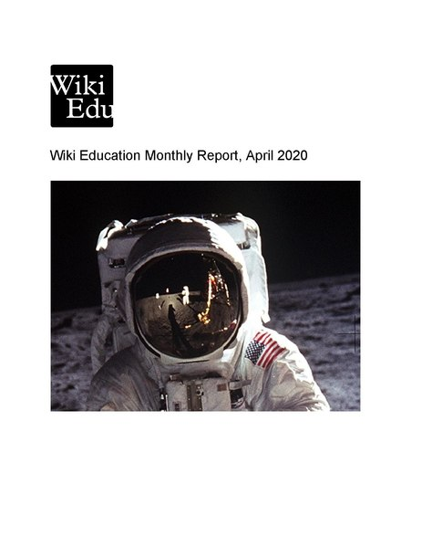 File:Wiki Education Monthly Report, April 2020.pdf