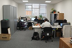 Wikimedia UK new office 2017 Lavington Street, London SE1 c.jpg