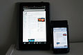 Wikipedia Kindle Fire & iPod 1441.JPG