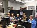 Wikipedia training at Inverclyde Heritage Hub.jpg
