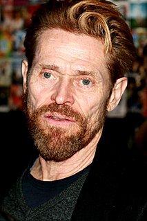 Willem Dafoe American actor