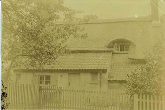 Barlestone - William Wright house. Circa 1848
