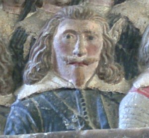 William Strode - Image: William Strode (1594 1645) St Marys Church Plympton