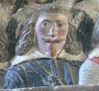 William Strode - Image: William Strode (1594 1645) St Marys Church Plympton